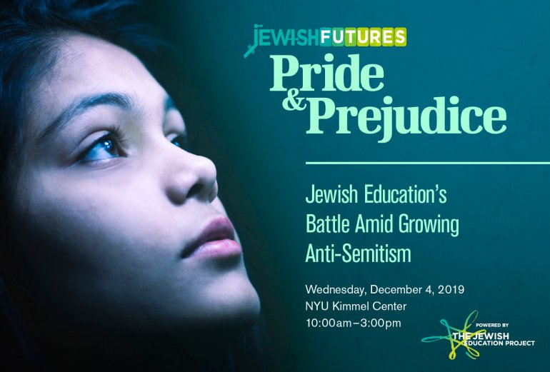 Jewish Futures 2019- Pride and Prejudice