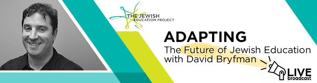Logo for The Jewish Education Project's Adapting Live Video Series